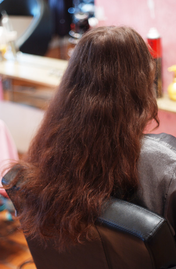 Japanese Straightening Before And After Before we do Japanese Hair